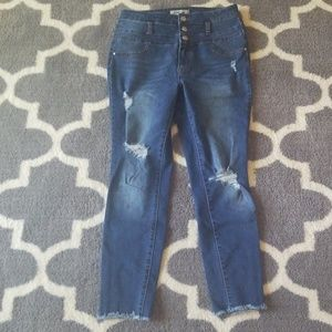 High raise skinny Jeans